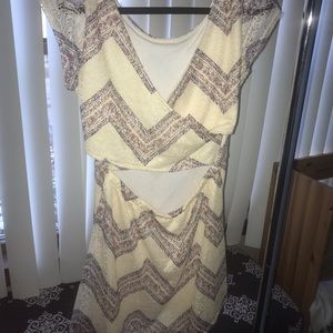 Open back never worn cute summer dress